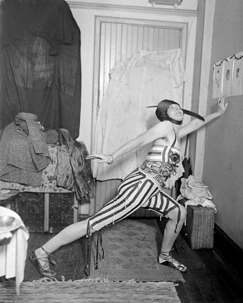 Baroness Von Freytag-Loringhoven Working as a Model